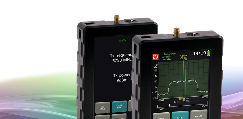 SAF Tehnika presents the world's first pocket-sized signal generator SG Compact.