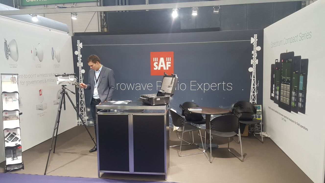 SAF Tehnika at Milipol Paris