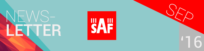 SAF Newsletter September 2016